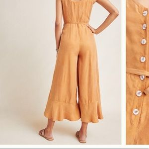 Anthropologie Pants - Tan jumpsuit